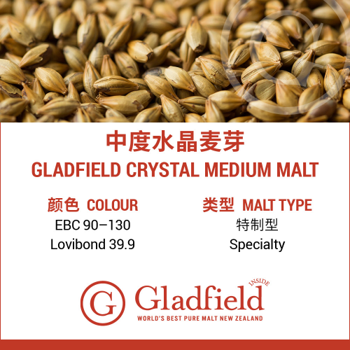 Gladfield Medium Crystal