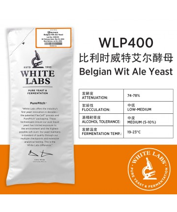 WLP400 Belgian Wit Ale Yeast