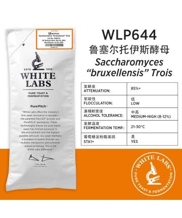 """WLP644 Saccharomyces """"bruxellensis"""" Trois"""